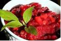 sugar free cranberry chutney