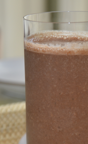 Blended Mocha Smoothie