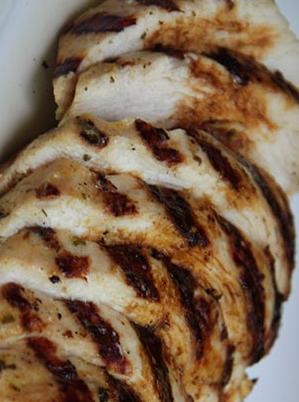 Herb And Orange Grilled Chicken