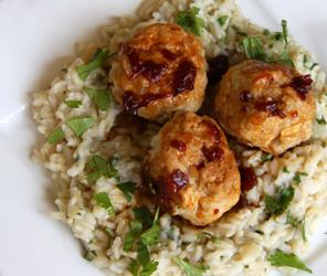 Meatballs & Rice recipe