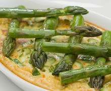 ASPARAGUS AND CURRY EGG CASSEROLE