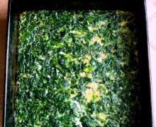 No Carb Spinach Bread