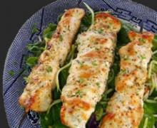 Garlic Chicken Kabobs