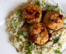 Meatballs & Rice recipe